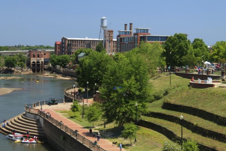 The Columbus Georgia Riverwalk